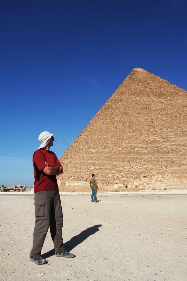 se manpyramiden arkivbilder