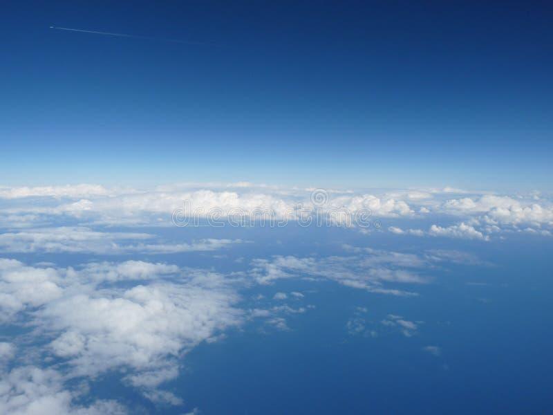 Se nubla la visión superior fotografía de archivo libre de regalías
