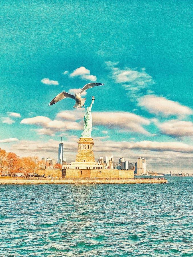 Se?ora Liberty imagen de archivo libre de regalías