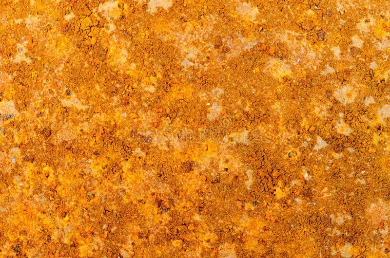 Se rouillent le fond m?tallique orange photos libres de droits