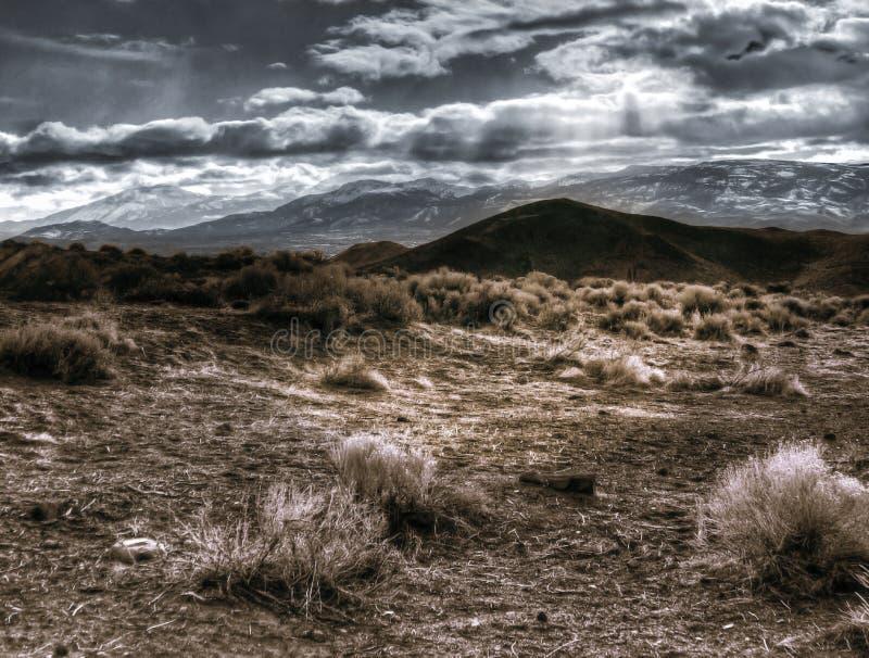 Reno Nevada från Virgina spänner arkivbild