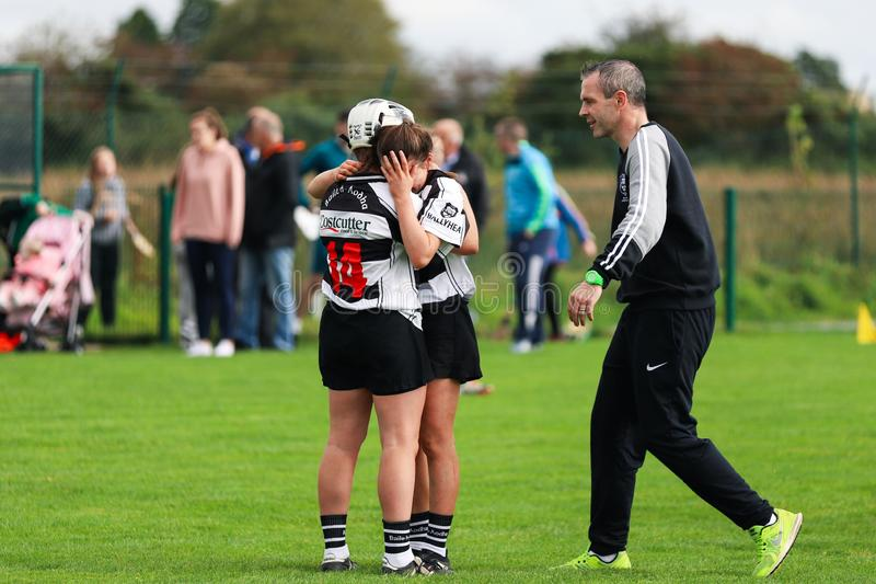 SE Systems Cork Camogie Junior A Championship Semi Final: Ballyhea vs St. Vincents royalty free stock image