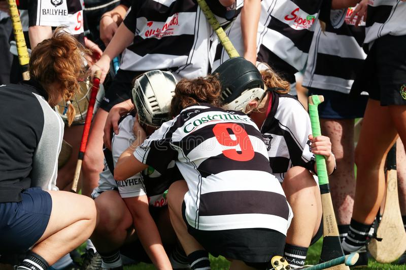 SE Systems Cork Camogie Junior A Championship Semi Final: Ballyhea vs St. Vincents royalty free stock photography