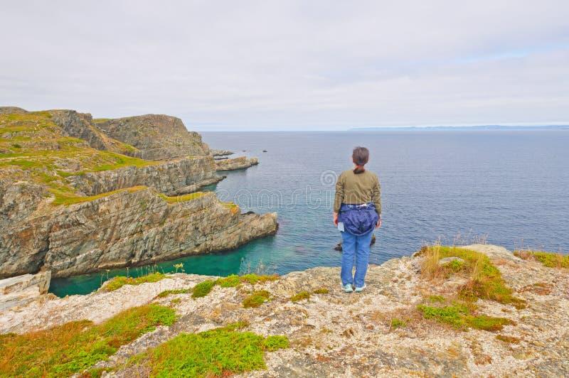 Se ut till hav fotografering för bildbyråer