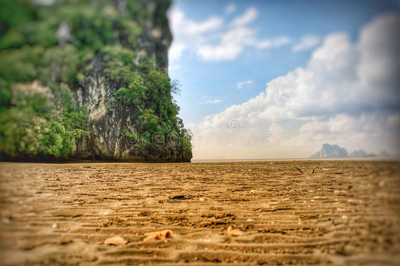Sea Thailand. Beautiful island royalty free stock image