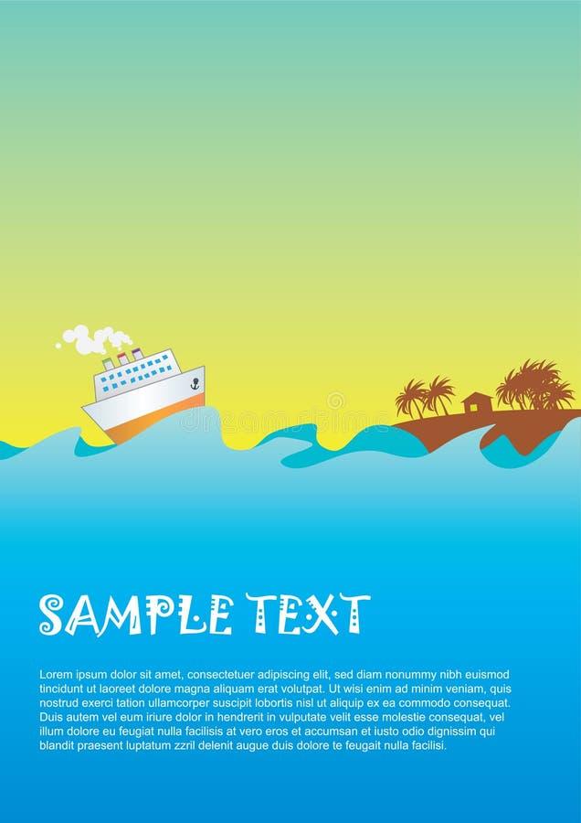 Sea_01 stock illustratie