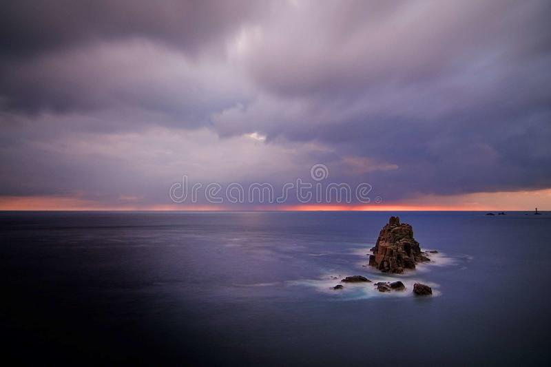 Download Sea stock image. Image of water, sundown, firmament, infinity - 12820181