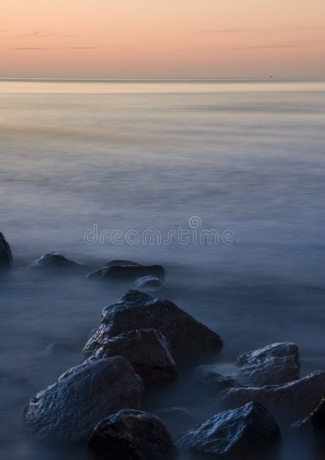 Sea. The Baltic Sea is located in Northern Europe, from 53 deg. to 66 deg. north latitude and from 20 deg. to 26 deg. east longitude. It is bounded by the stock photos