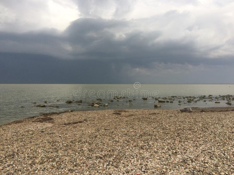 Sea of Azov royalty free stock images