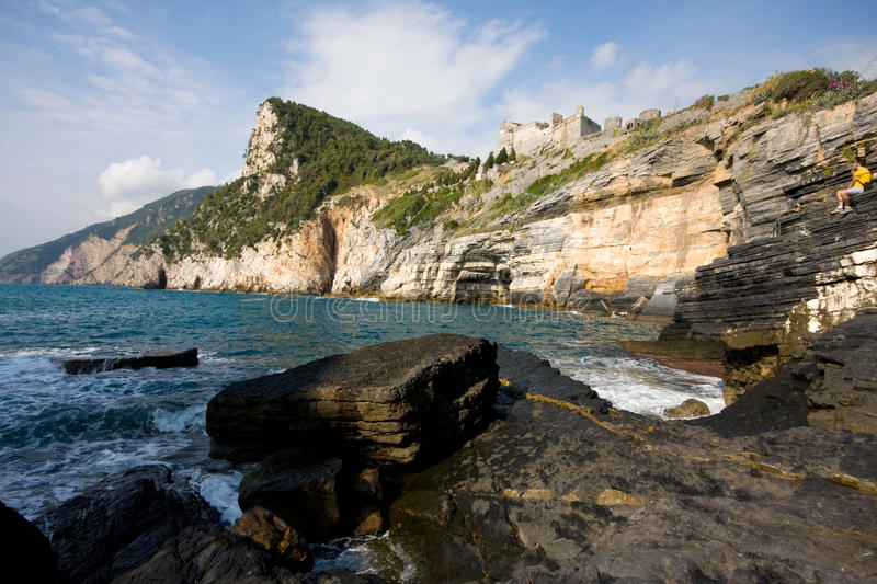 Download Sea bay stock photo. Image of place, italy, liguria, landscape - 11280642