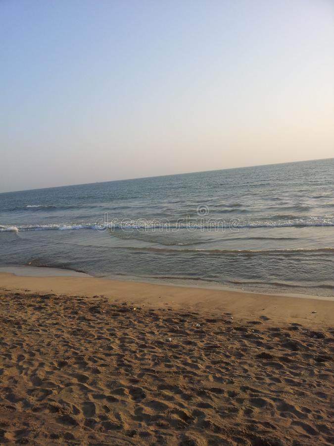 Sea beach in gujarat, beach in gujarat, beach in India, beach side view. Sea beach in gujarat, beach in gujarat, beach in India, beach side. Travel royalty free stock photography