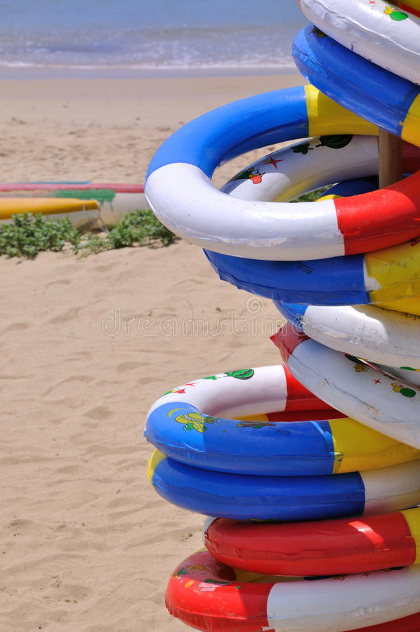 Download Sea Beach Holiday Life Buoy Stock Photo - Image: 20598302