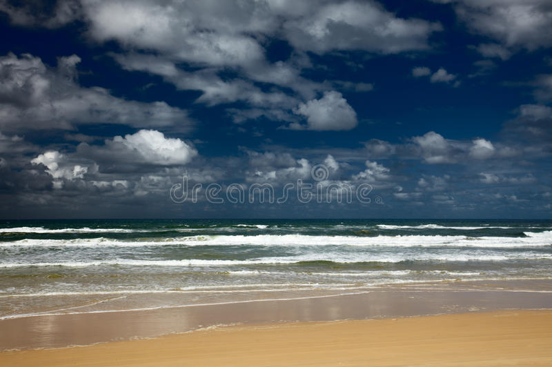 Download Sea Beach And Nice Clouds In A Sky Stock Photo - Image: 10562346