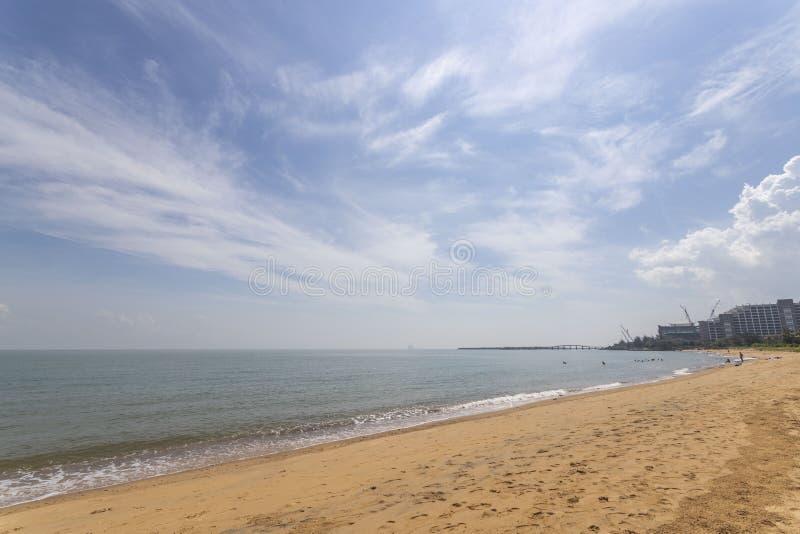 Sea beach sky clouds blue. Sea beach sky clouds china stock photography