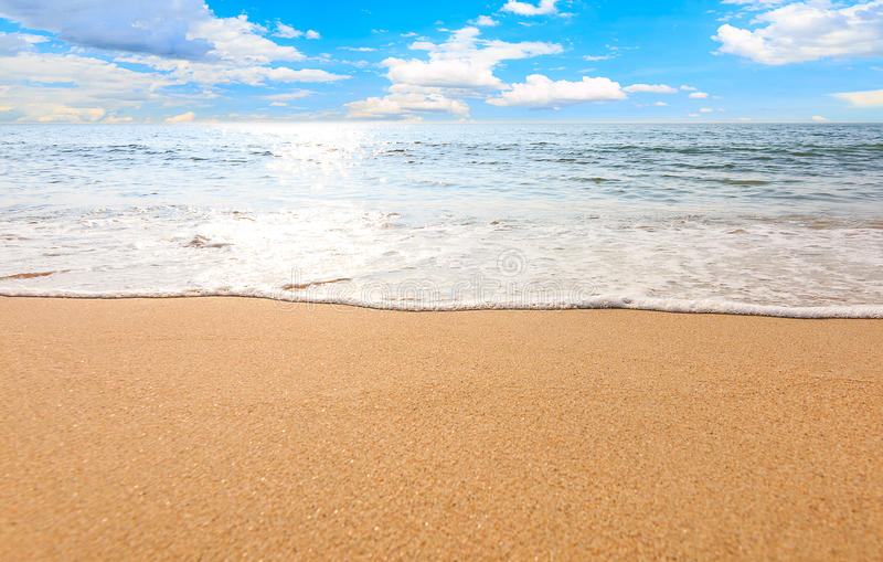 Sea beach sky relaxation landscape stock photos