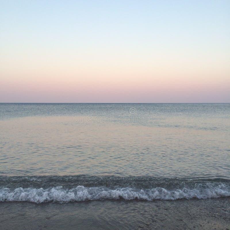 Summer. Sea blue wave light royalty free stock photo