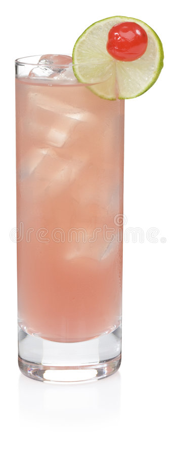 Download Sea Breeze Cocktail stock photo. Image of party, clipped - 3414956