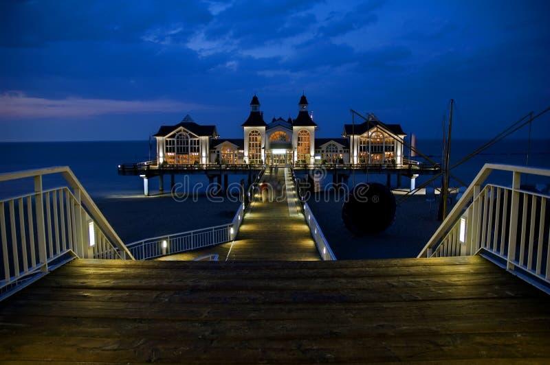 Download Sea Bridge stock photo. Image of ocean, sellin, germany - 2906330