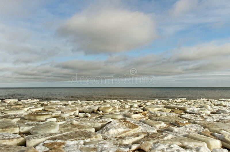 Download The sea in ice. stock image. Image of floe, breach, gray - 29708563