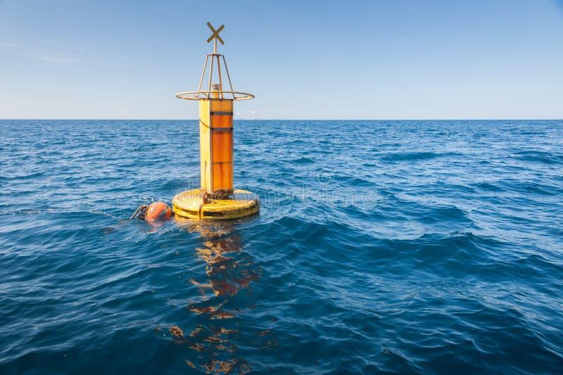 Sea Buoy. At the sea Andaman thailand royalty free stock photos