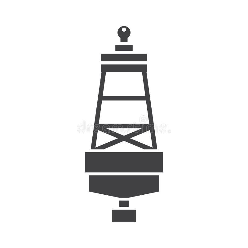 Free Sea Buoy Icon Stock Photography - 94651352