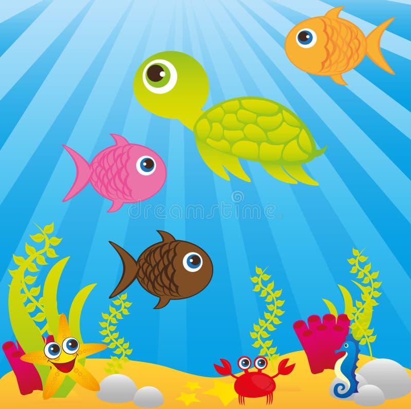 Sea Cartoon Stock Photos