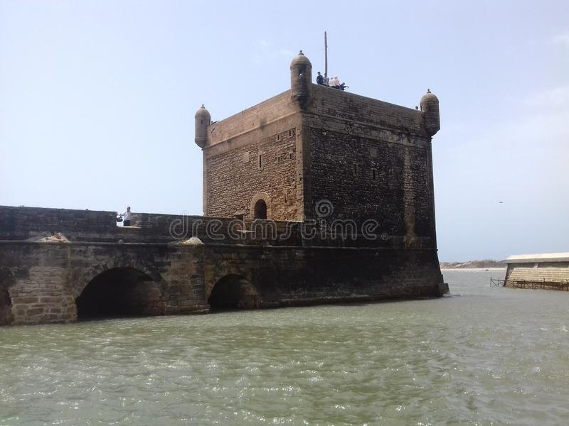 Sea castle old building royalty free stock photo