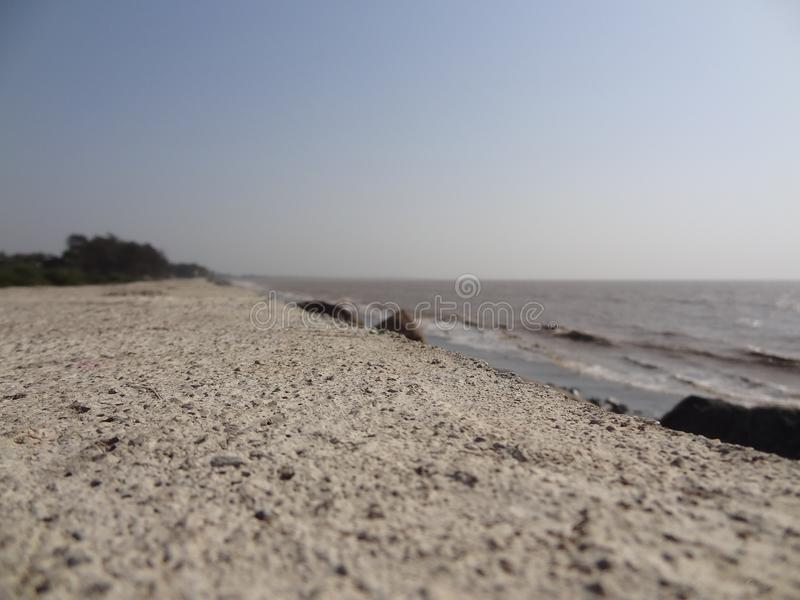 Sea. Click on beach royalty free stock image