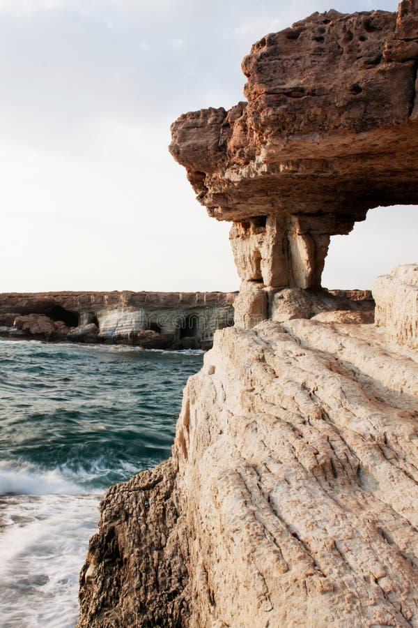 Download Sea cliffs stock photo. Image of coastline, cyprus, caves - 21730022