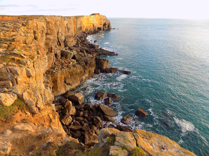 Sea Cliffs 2 royalty free stock images