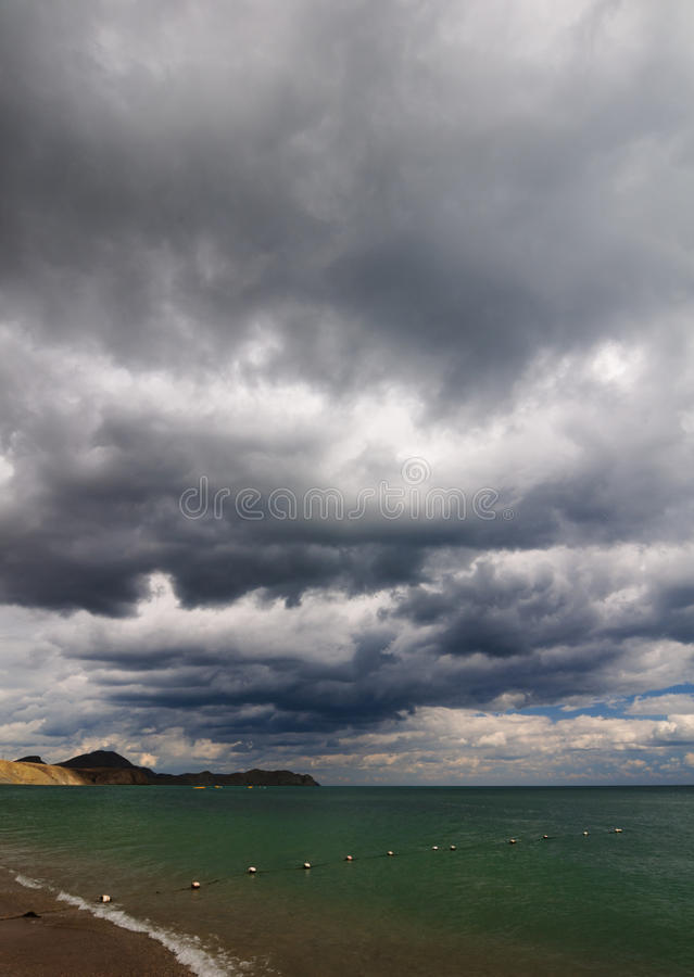 Download Sea and clouds stock photo. Image of beauty, scenery - 26465570