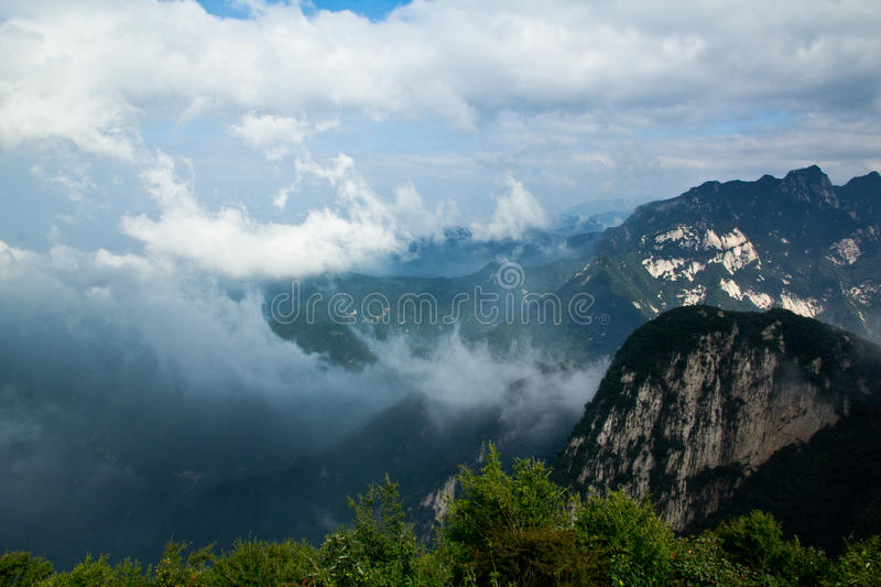 Download Sea of Clouds stock image. Image of highland, rural, china - 26566109