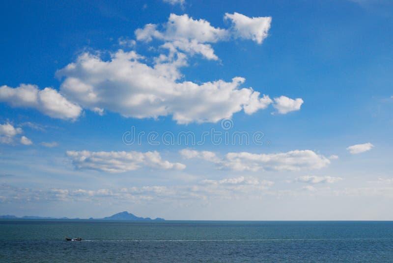 Sea&clouds fotografia de stock