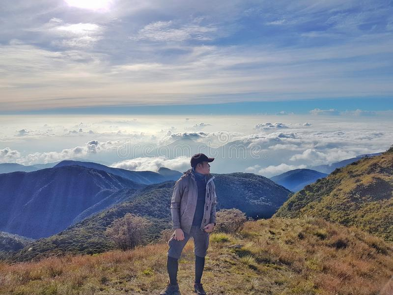 Mt. Pulag royalty free stock photography