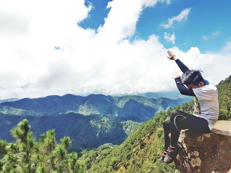 Mt. Ulap royalty free stock photo