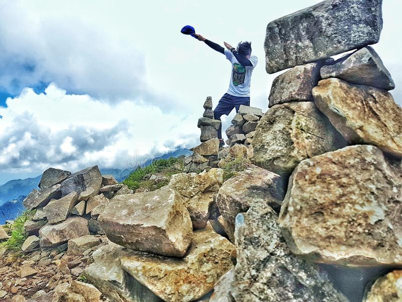 Mt. Ulap royalty free stock image