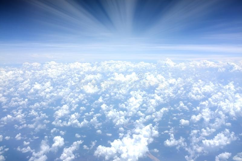 Sea Of Clouds Over Blue Sky At Daytime Free Public Domain Cc0 Image