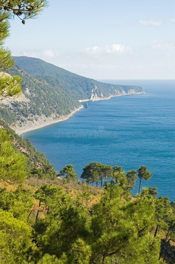 Sea coast royalty free stock photography