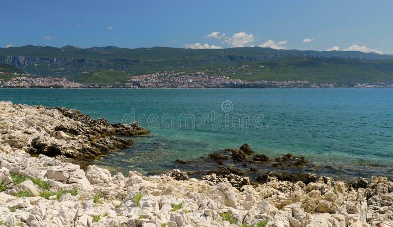 Sea coast royalty free stock photo