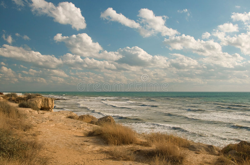 Sea coast royalty free stock image