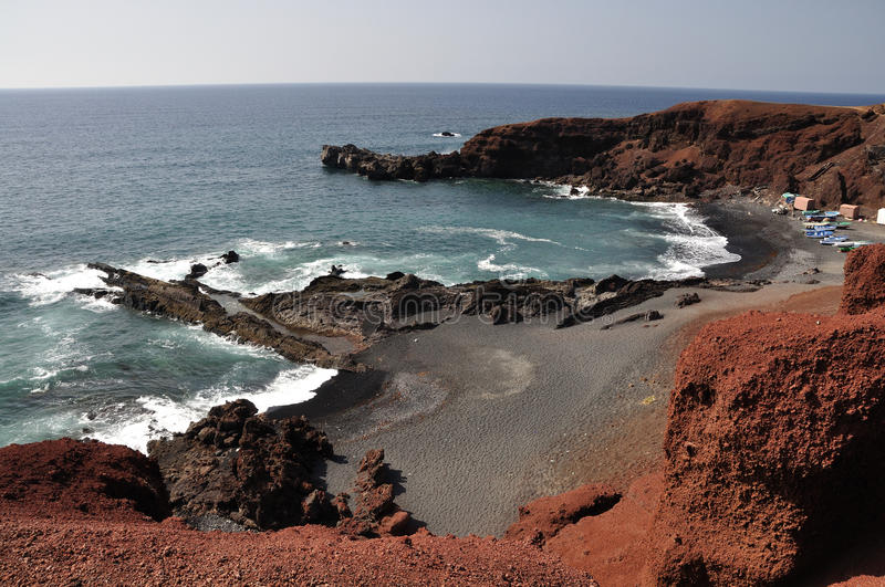 Download Sea Coast On Canary Island Lanzarote Royalty Free Stock Images - Image: 18903479