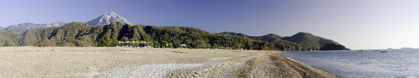 Download Sea coast panorama stock photo. Image of clear, high, rocky - 6959004