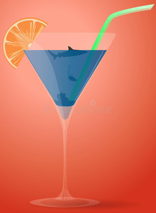 Download Sea Cocktail Royalty Free Stock Photography - Image: 28390487