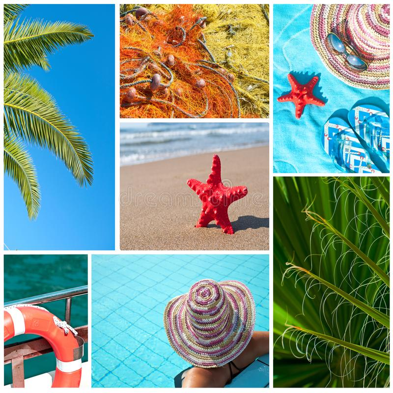 Sea collage - (All photos you can find in my port in high resolution royalty free stock image