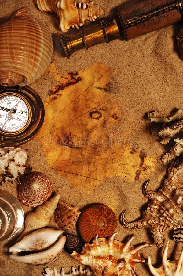 Sea Concept Still Life Royalty Free Stock Images