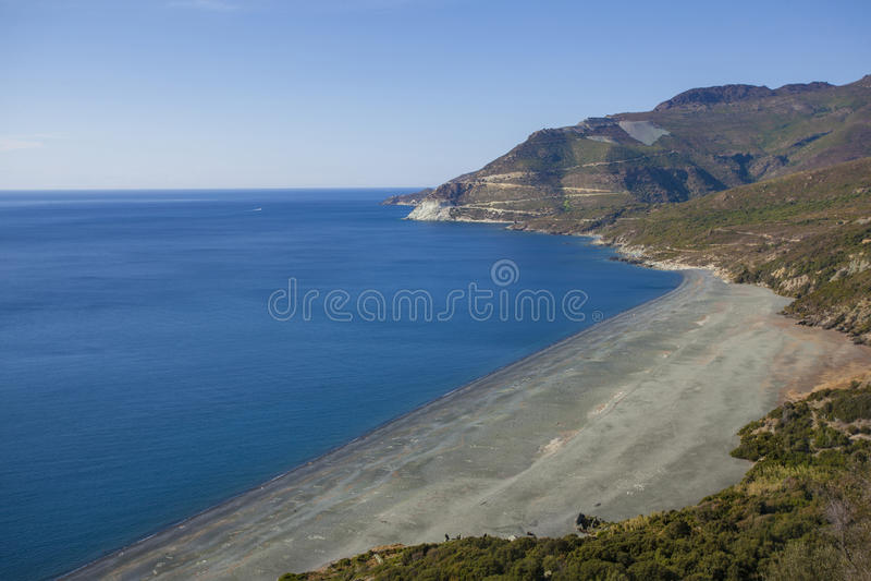 Download Sea of Corsica stock photo. Image of beach, seascape - 33382600