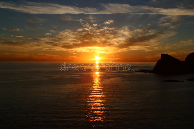 Download Sea of Cortez Sunset stock photo. Image of relax, relaxed - 1129482