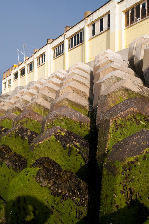 Download Sea Defence Wall Protection Stock Photo - Image: 12633532