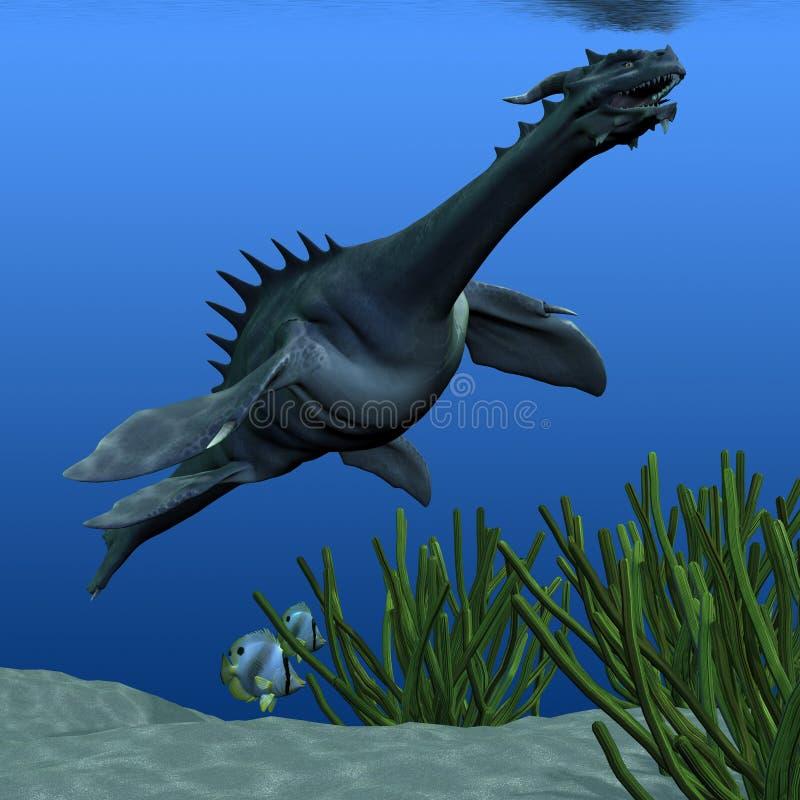 Download Sea Dragon 02 stock illustration. Image of lizard, image - 23534522