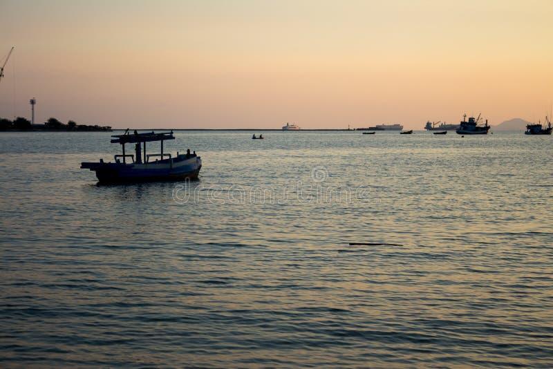 Download The sea at dusk. stock image. Image of landscape, coast - 29007607